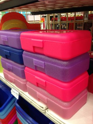 Pencil boxes from Michael's