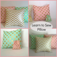 Learn to Sew Pillow - The Lost Apron