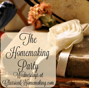 Homemaking Party Button