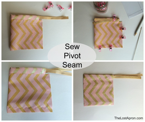 Learn to Sew Drawstring Pouch is a child tutorial beginner project. This is part of a series in Teaching Children to Sew. -- The Lost Apron