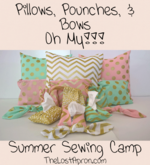 This is a camp for you to teach your children to sew in the form of a Summer Sewing Camp.