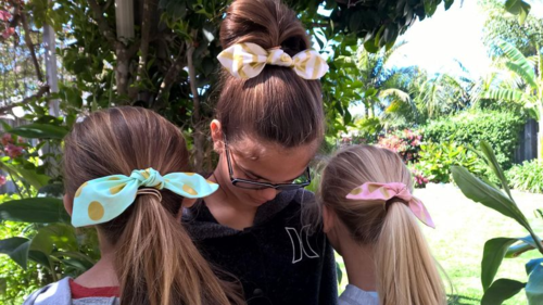 DIY Hair Bows are easy to make and can be added to hair ties, clips or headbands.  The Lost Apron