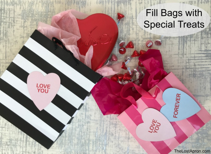 Diy Valentine S Day Gift Bags Christian Homemaking