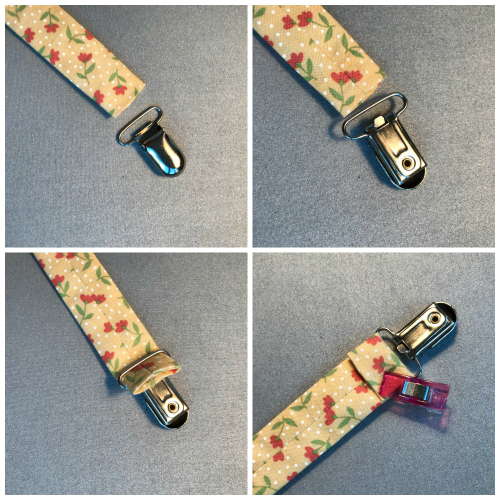 Easy DIY Pacifier Clips -- Pacifier Clips are a quick and easy project to make to use or give as a gift. A pacifier attaches easily to the loop end. The clip attaches securely onto a baby bib, clothing or infant carrier. -- The Lost Apron