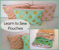 Learn to Sew Pouches