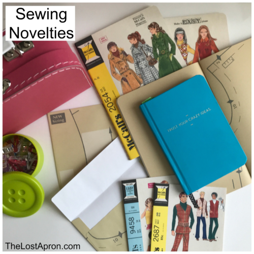 Sewing Novelties -- The Lost Apron